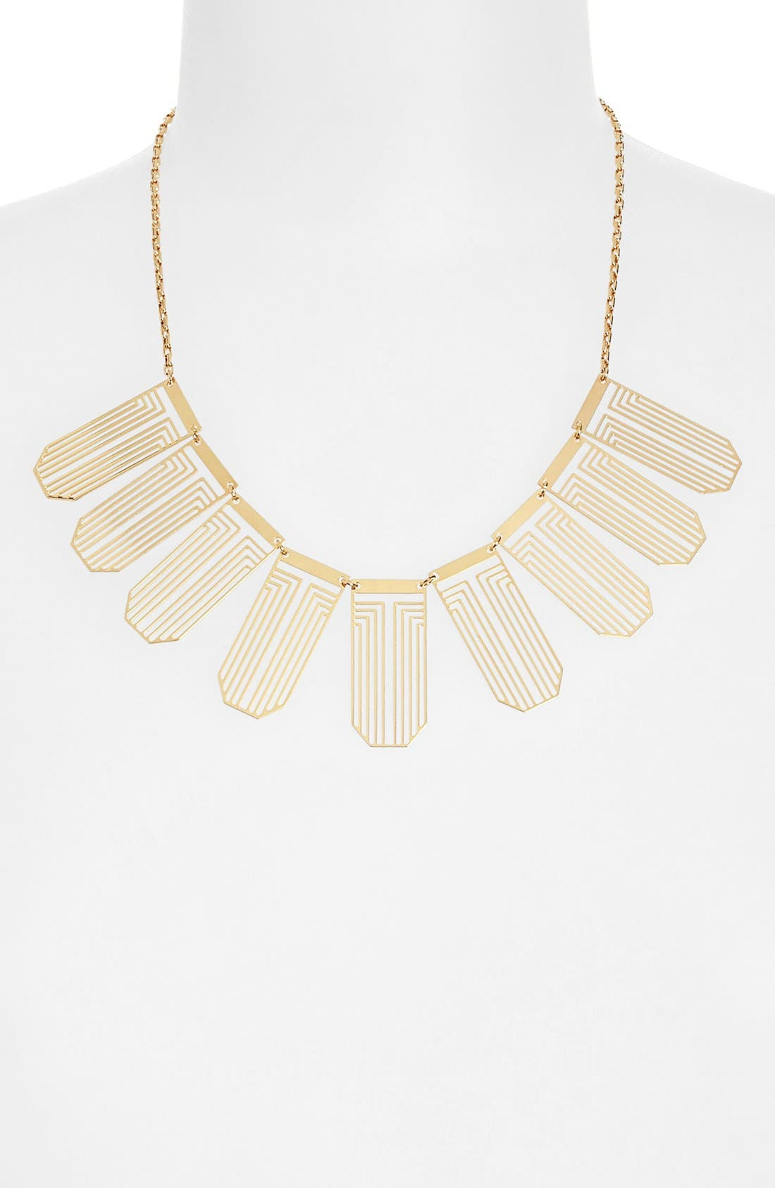 Alternate Image 2  - Tory Burch 'Frete' Bib Necklace