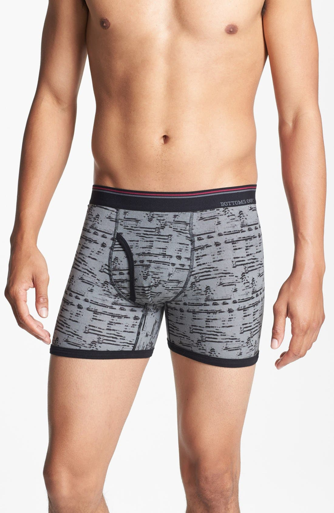 Alternate Image 2  - Basic Underwear 'Bottoms Out' Boxer Briefs (3-Pack)