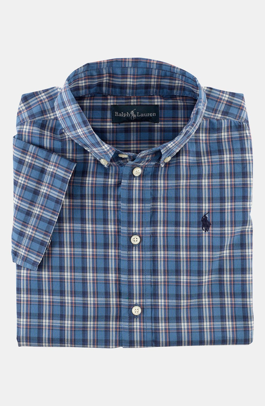 Main Image - Ralph Lauren Plaid Shirt (Toddler Boys)