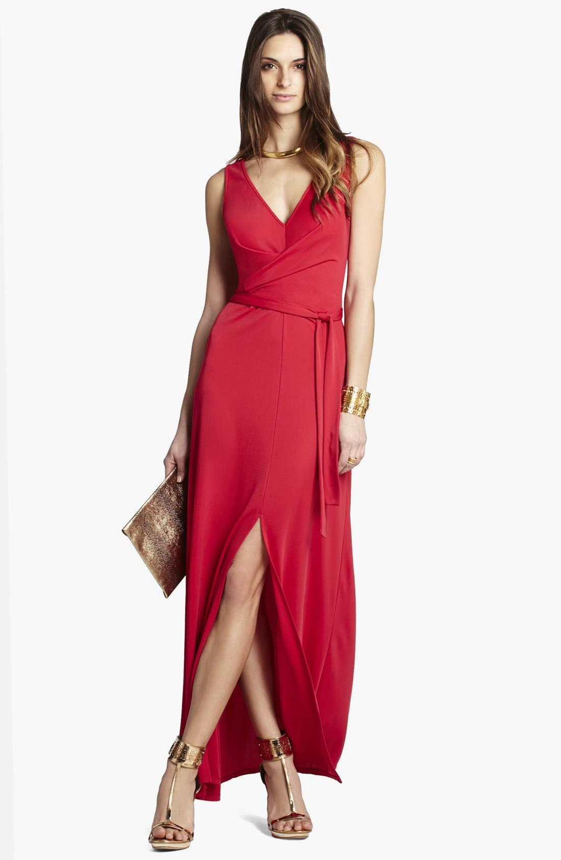 Main Image - BCBGMAXAZRIA Jersey Maxi Dress