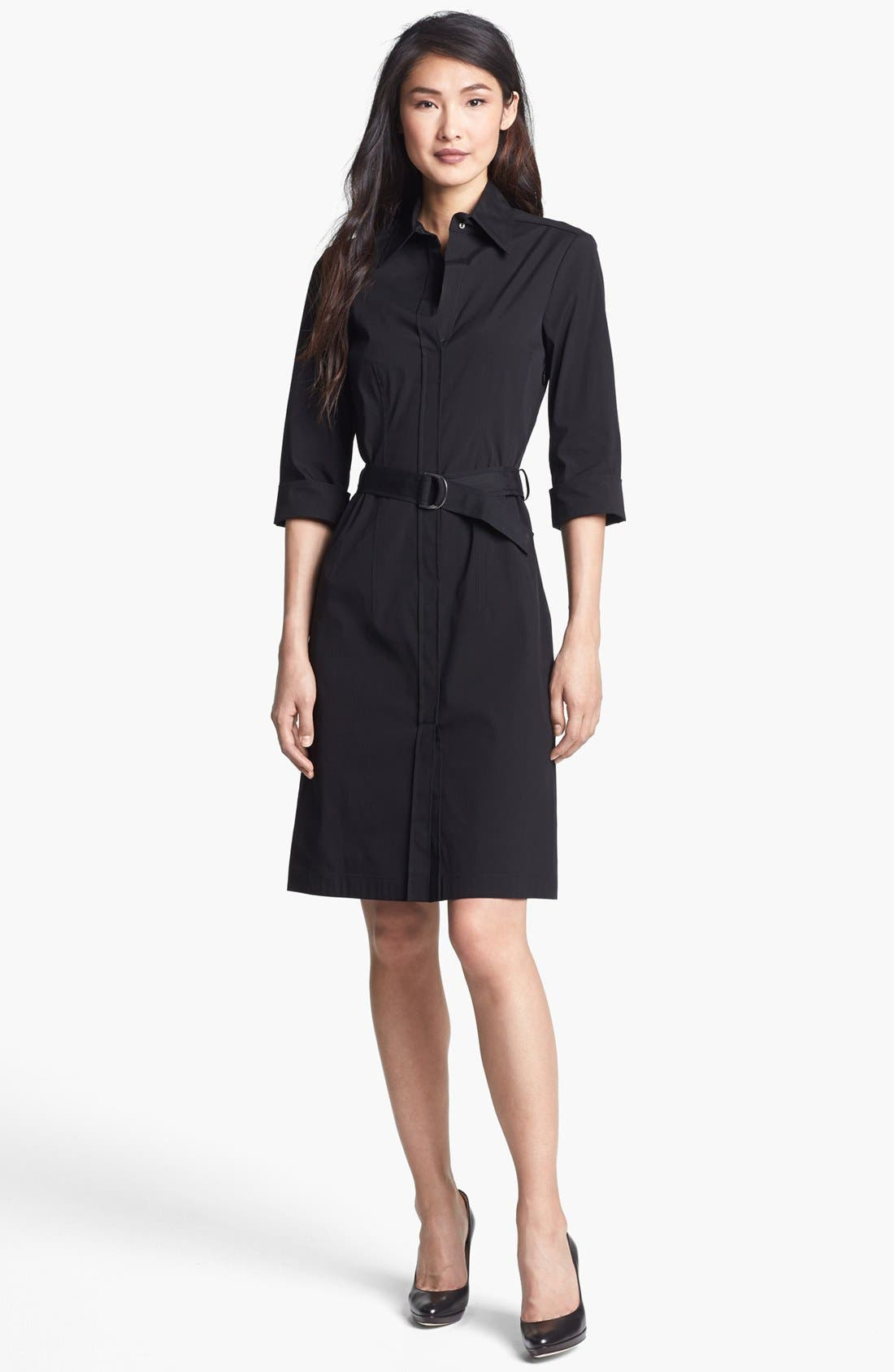 Alternate Image 1 Selected - BOSS 'Dashina 3' Shirtdress