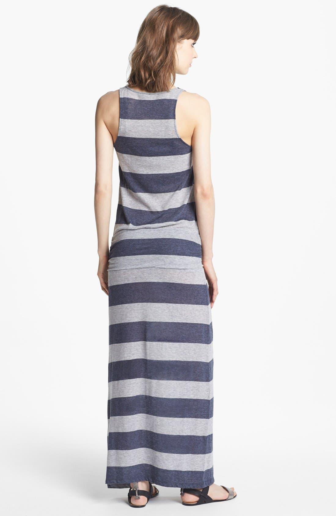 Alternate Image 2  - Soft Joie 'Wilcox' Stripe Maxi Dress