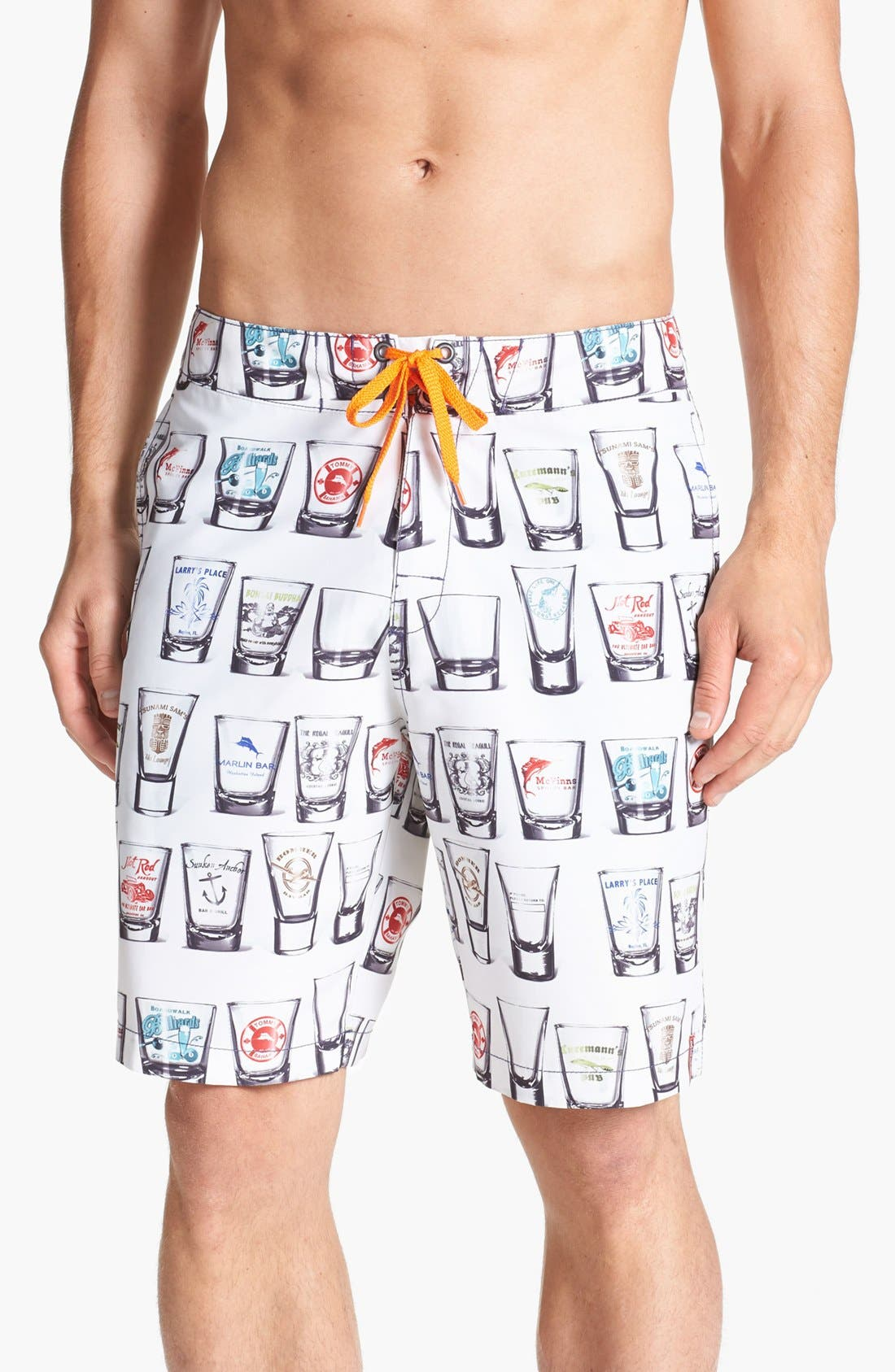 Alternate Image 1 Selected - Tommy Bahama Relax 'Take Your Best Shot' Swim Trunks