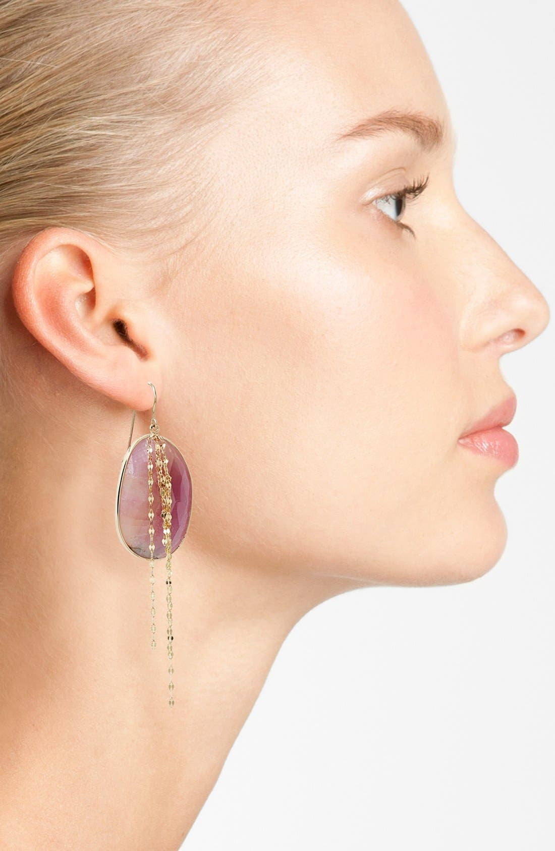 Alternate Image 2  - Lana Jewelry 'Stone Gold' Sapphire Cascade Earrings
