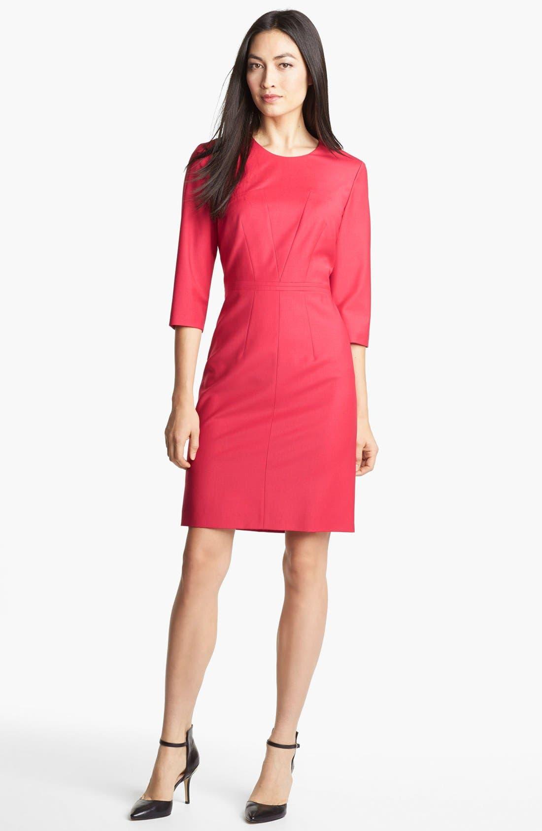 Alternate Image 1 Selected - BOSS HUGO BOSS 'Deminas' Dress