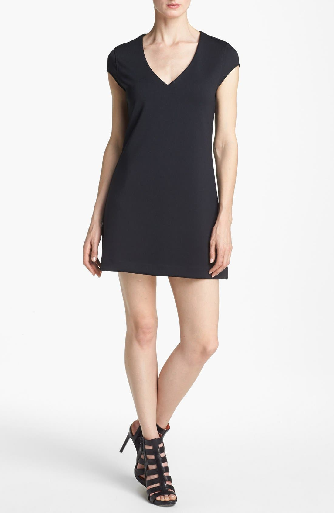 Alternate Image 1 Selected - Leith V-Neck Shift Dress