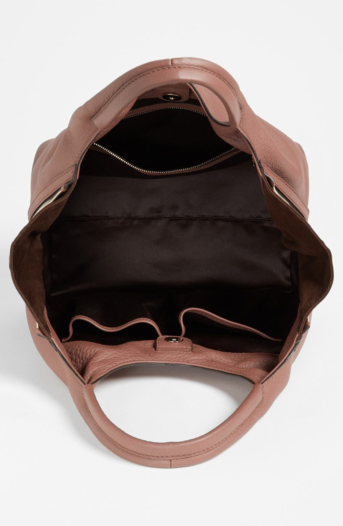 Alternate Image 3  - Tod's 'ALH Side Zip - Small' Leather Shopper