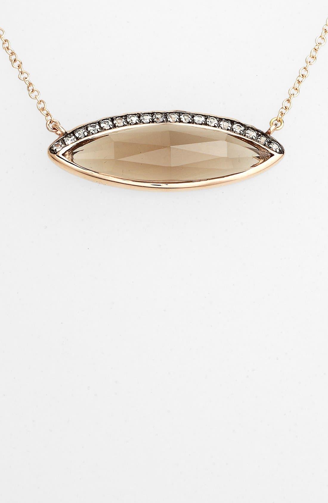 Alternate Image 2  - Whitney Stern Pendant Necklace