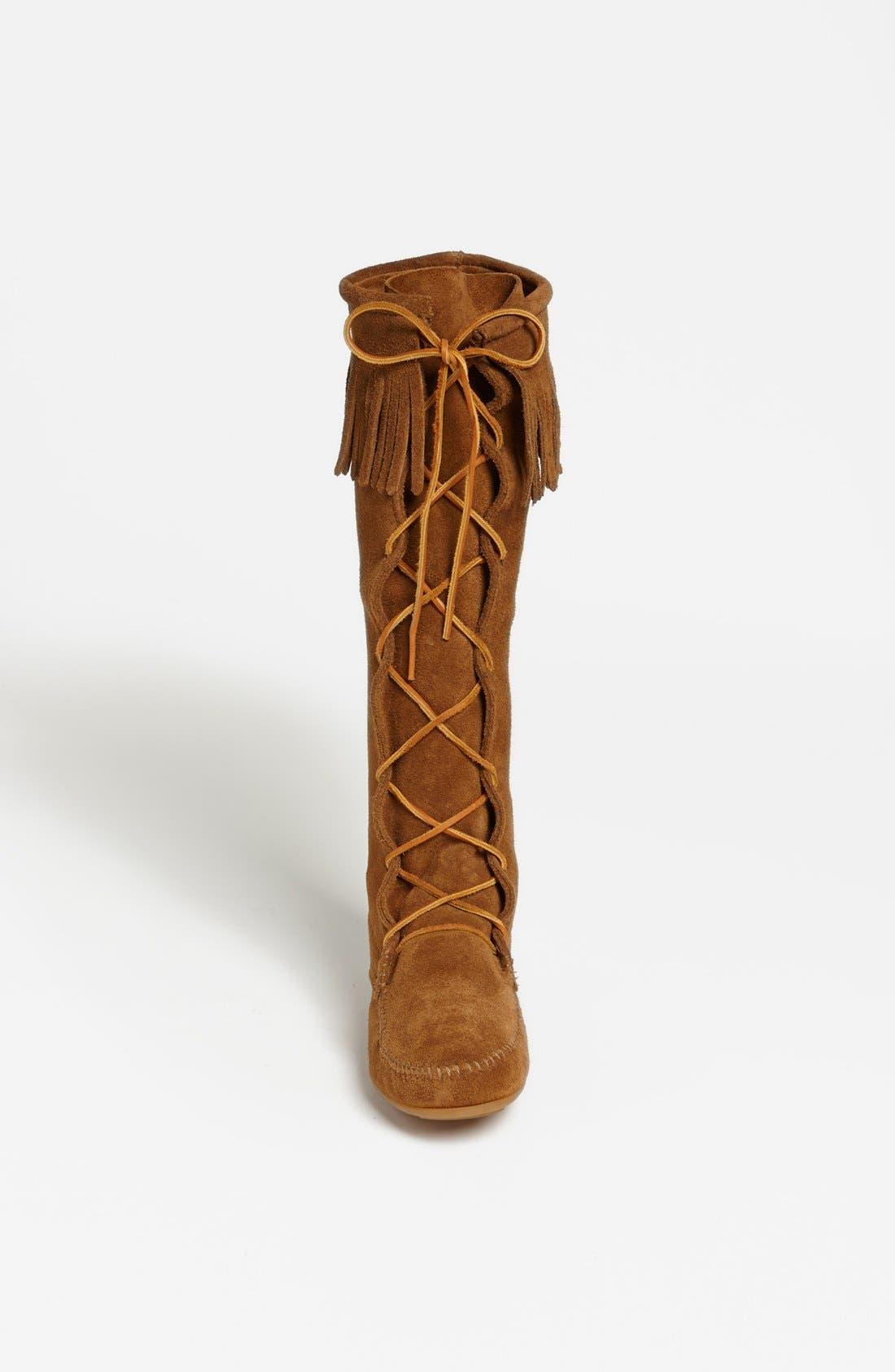 Alternate Image 3  - Minnetonka Lace-Up Boot
