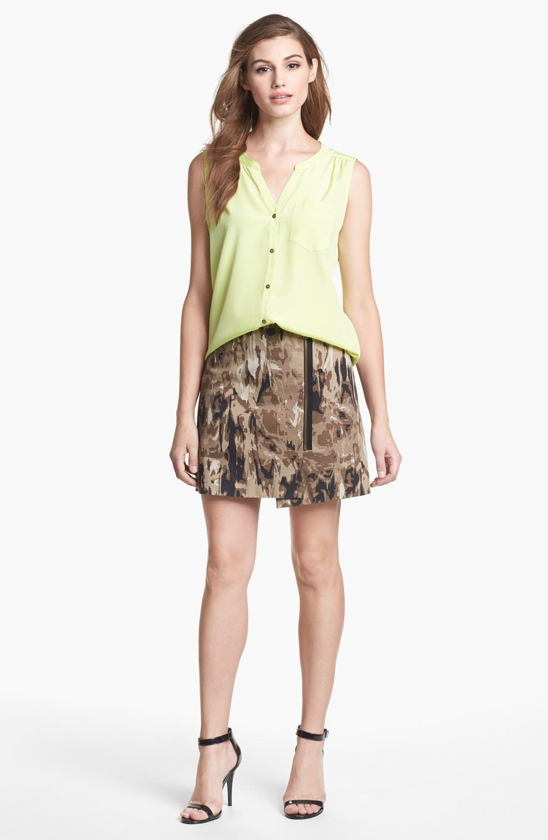Alternate Image 3  - Kenneth Cole New York 'Jolie' Sleeveless Blouse