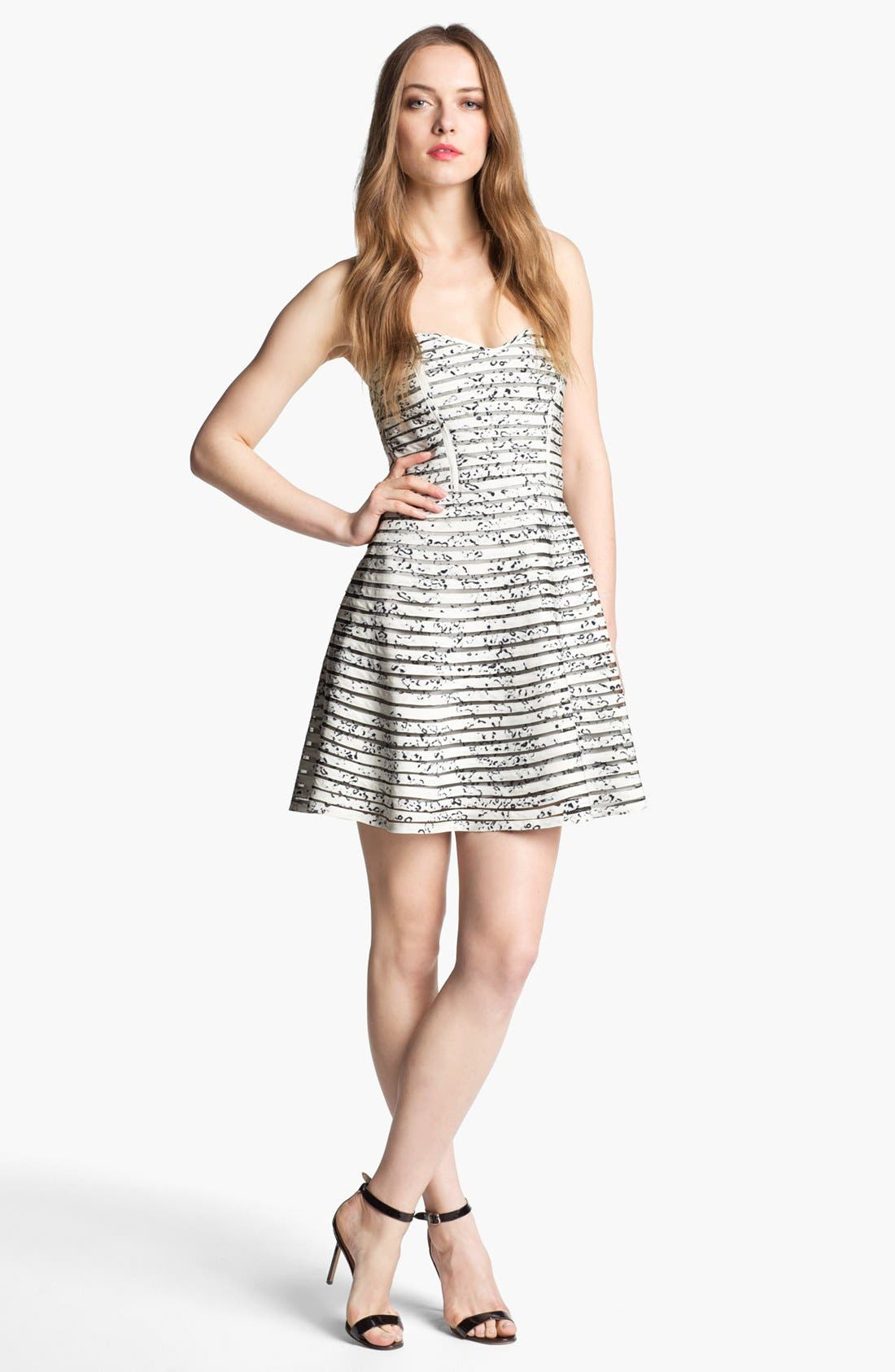 Alternate Image 1 Selected - Parker 'Molly' Strapless Fit & Flare Dress