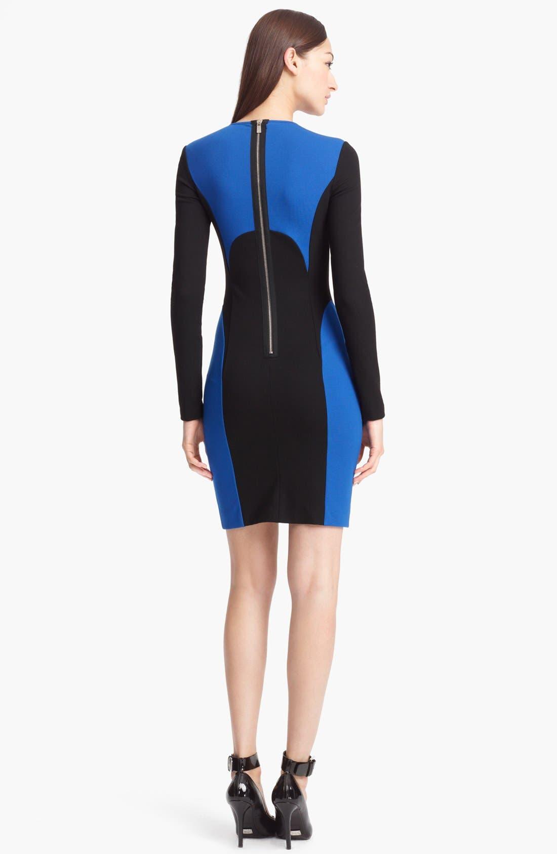 Alternate Image 2  - Michael Kors Colorblock Jersey Dress