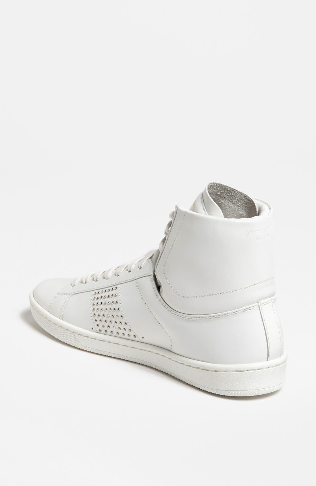 Alternate Image 2  - Saint Laurent High Top Sneaker