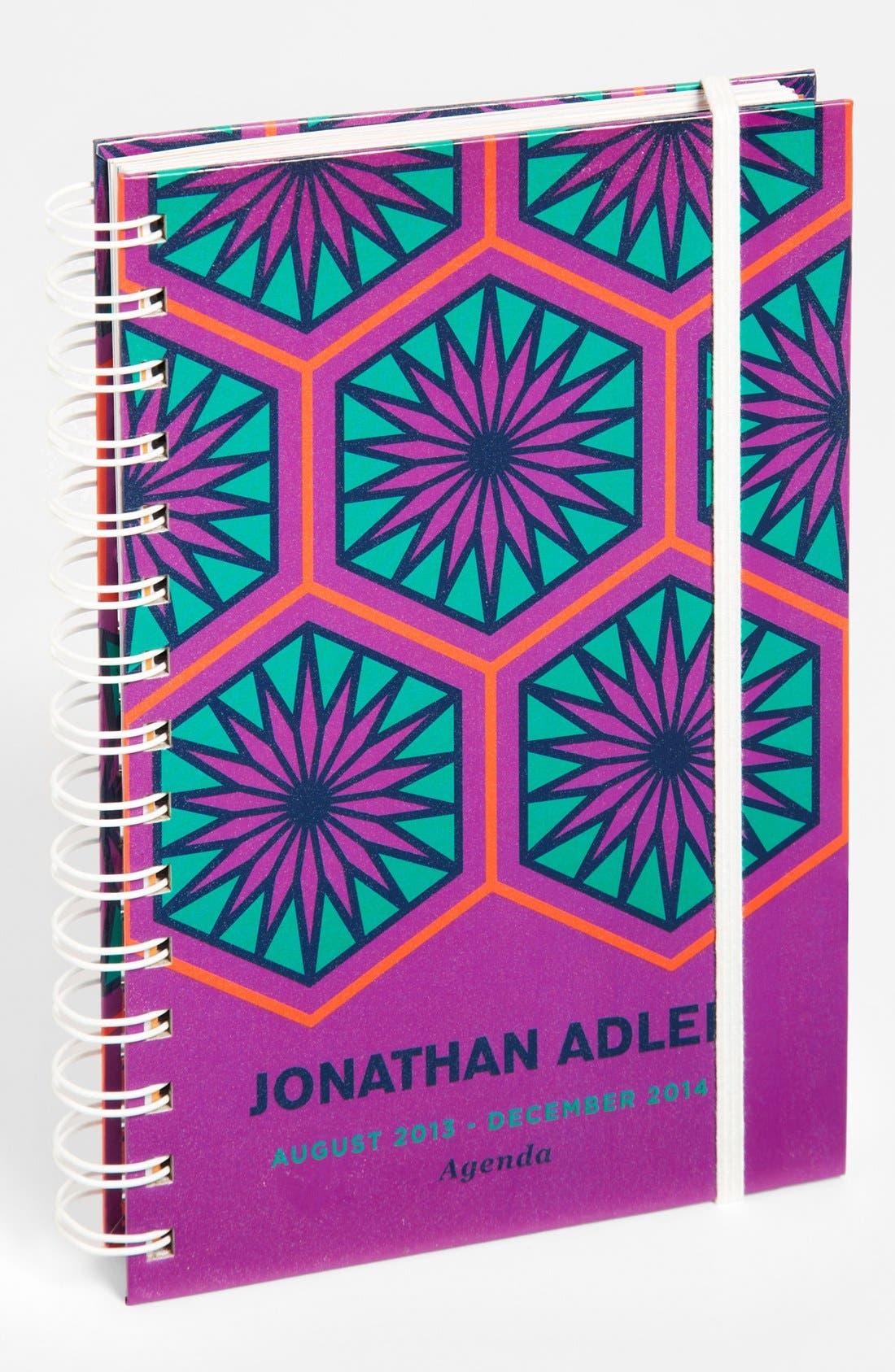 Alternate Image 1 Selected - Jonathan Adler 'Positano Hexagons' 17-Month Agenda