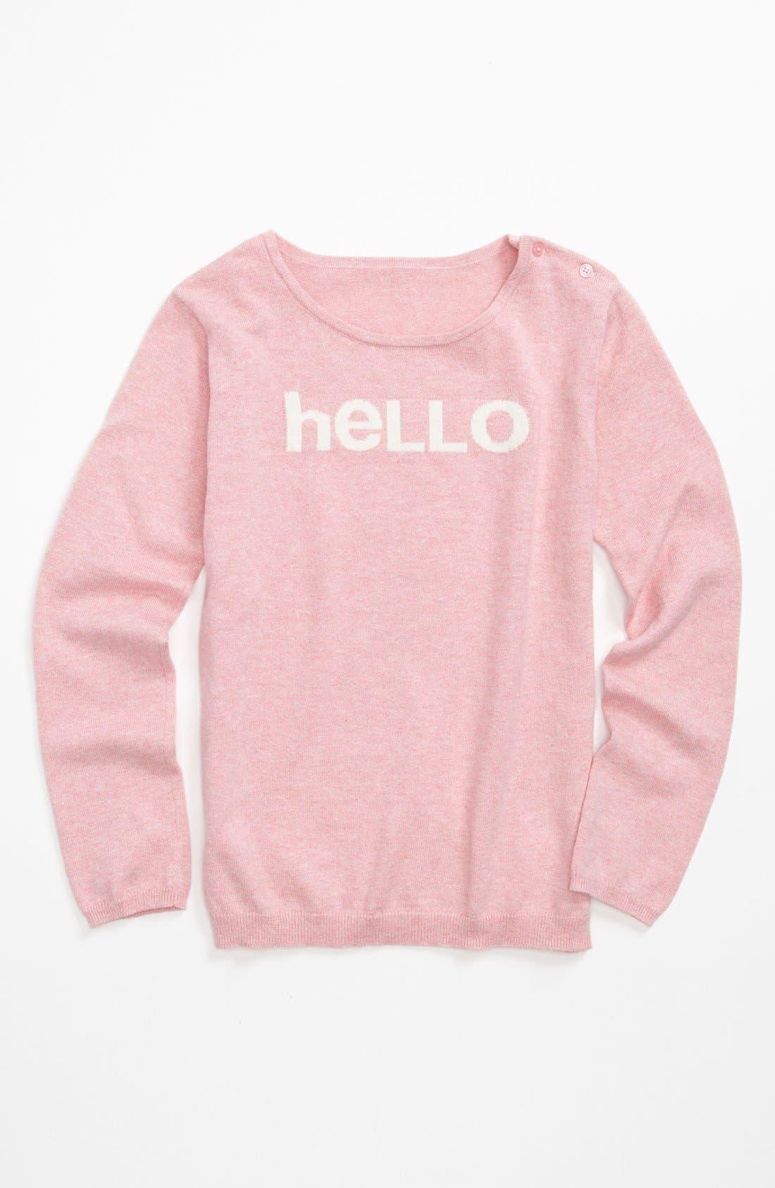Alternate Image 1 Selected - Tucker + Tate 'Alexia' Sweater (Little Girls & Big Girls)