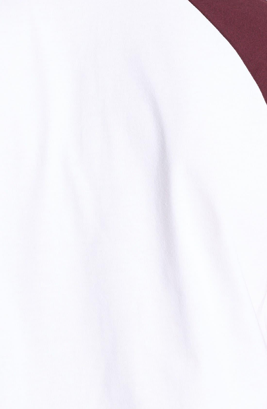 Alternate Image 3  - Topman Short Sleeve Baseball T-Shirt