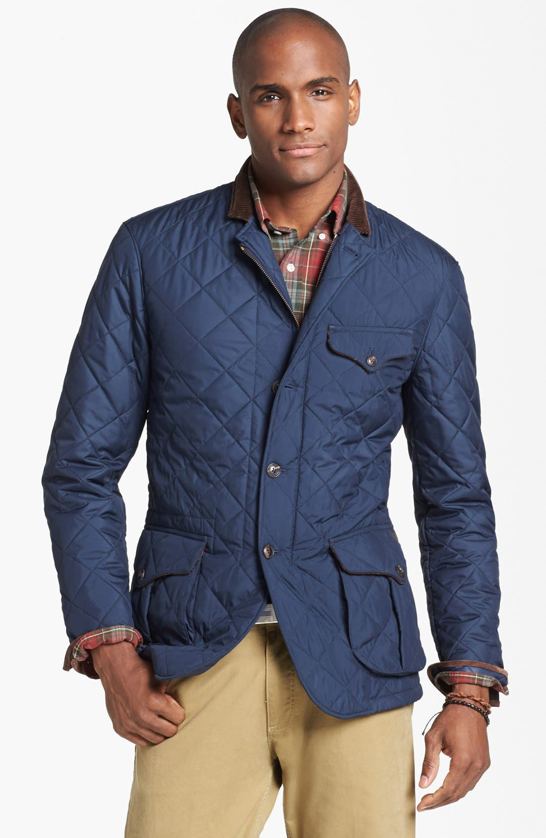 Alternate Image 1 Selected - Polo Ralph Lauren Quilted Sportcoat