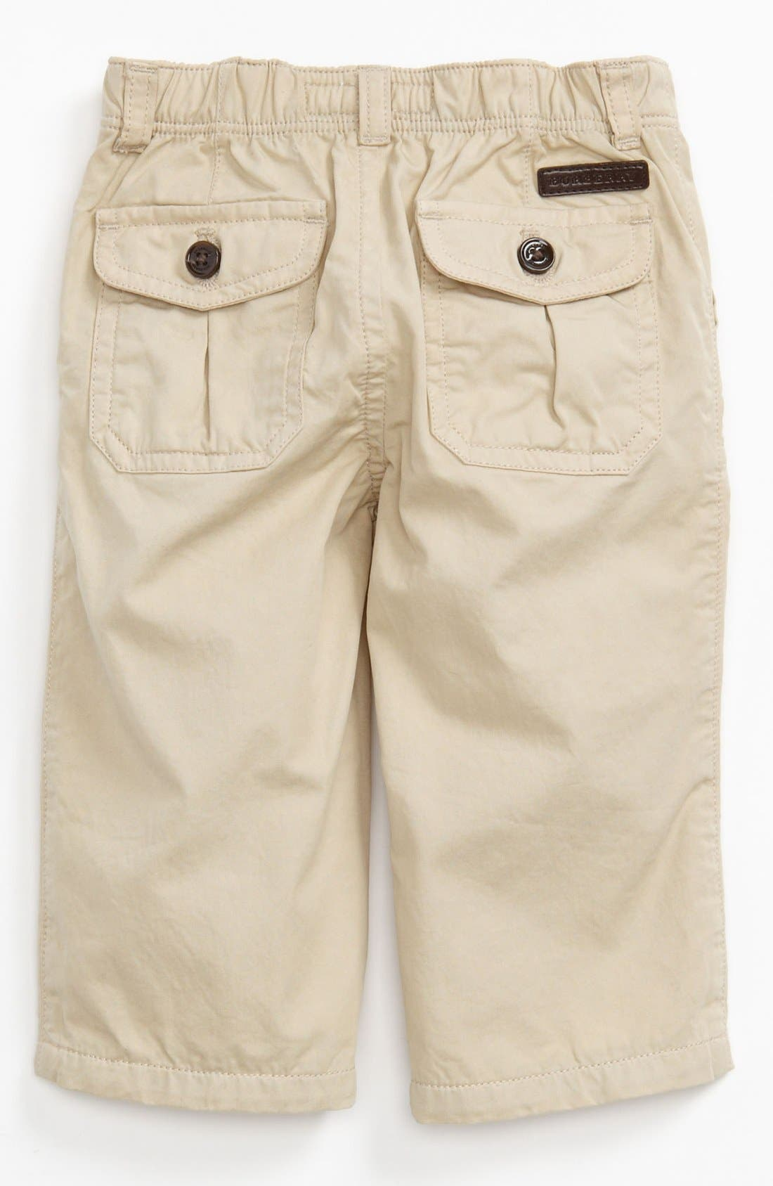 Alternate Image 1 Selected - Burberry Dress Pants (Toddler Boys)