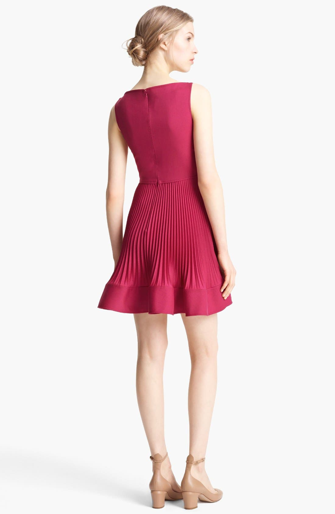 Alternate Image 3  - Valentino Sleeveless Wool Dress