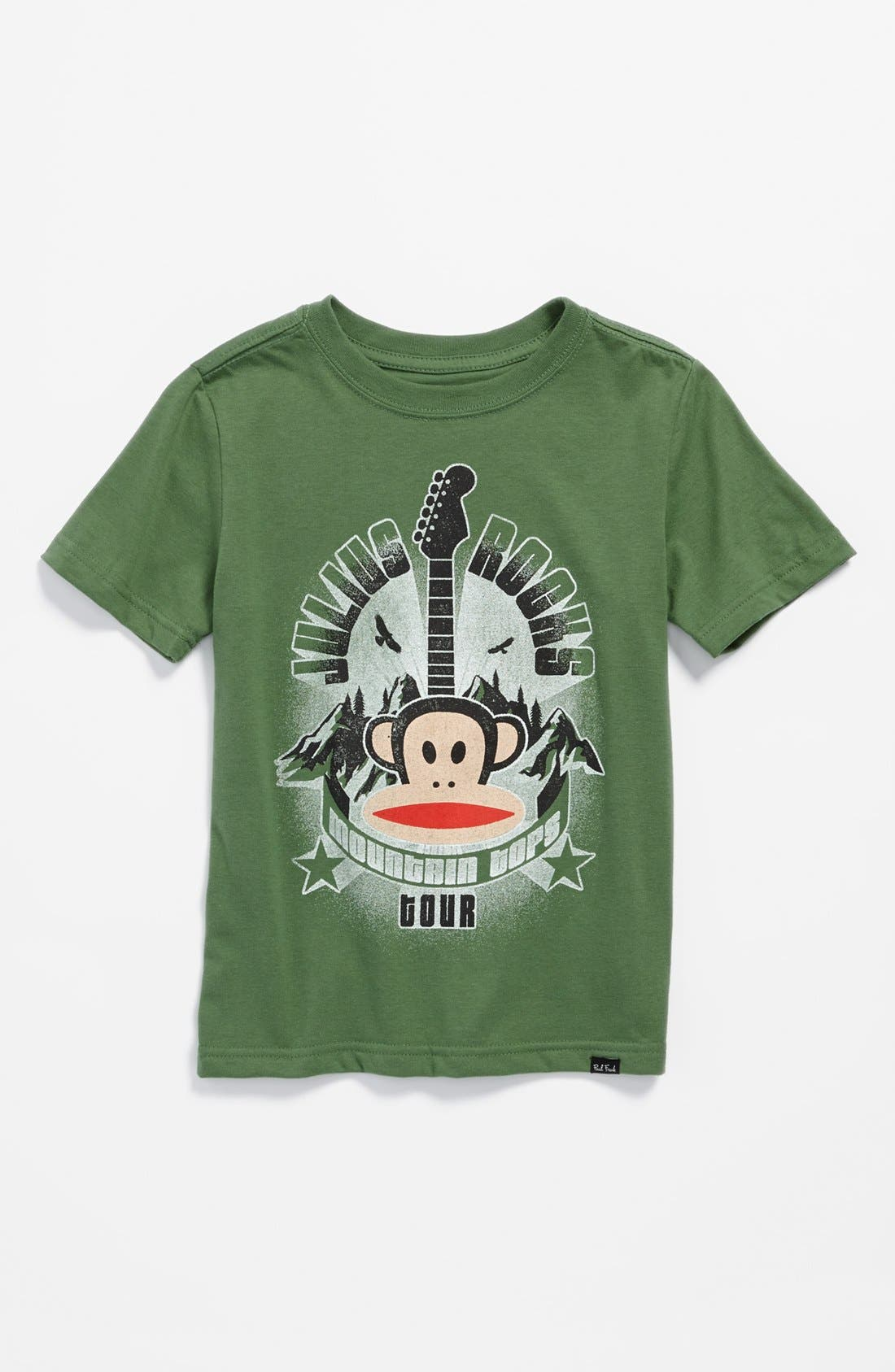 Alternate Image 1 Selected - Paul Frank 'Julius® Rocks' T-Shirt (Little Boys)