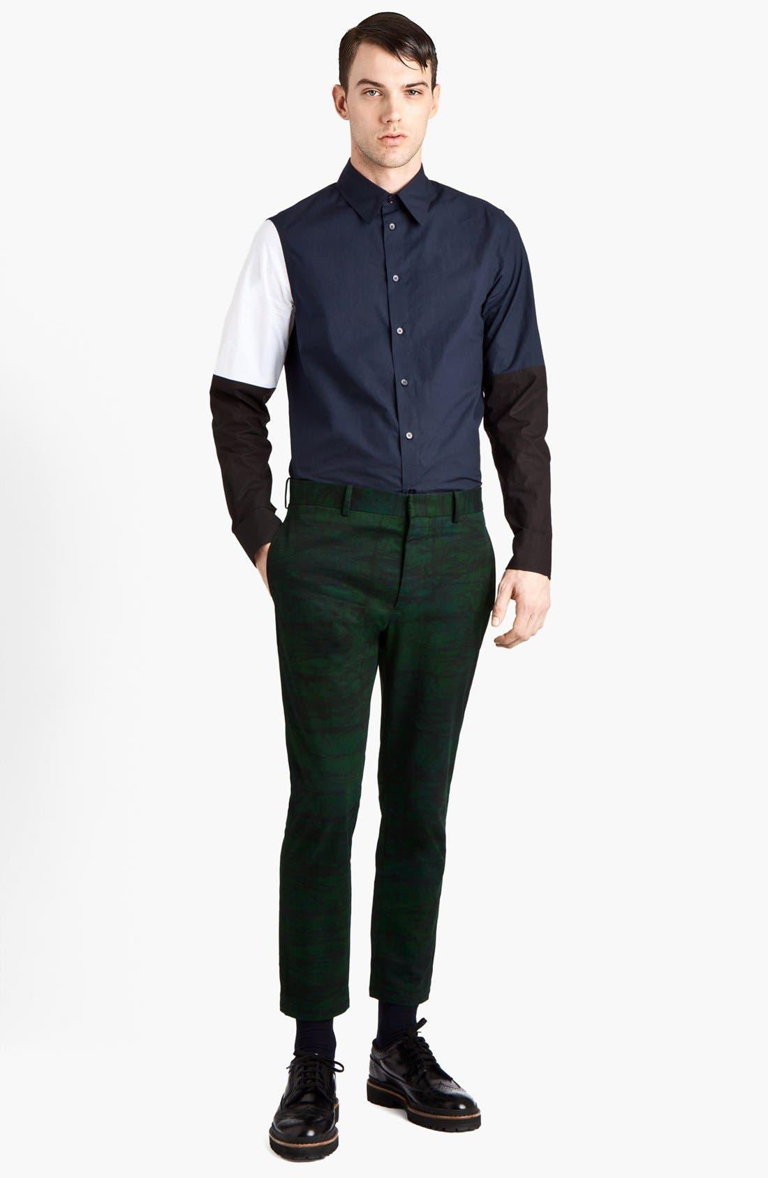 Alternate Image 4  - Marni Colorblock Woven Shirt