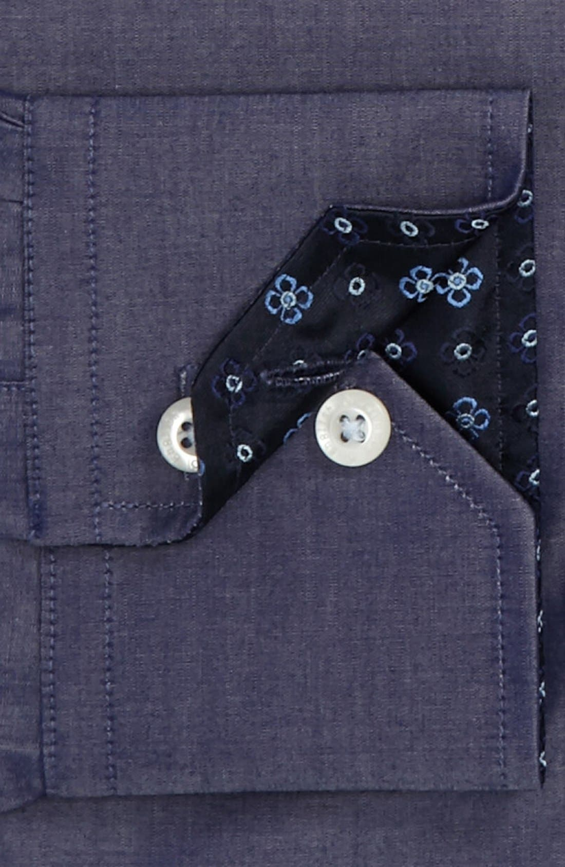 Alternate Image 2  - English Laundry Trim Fit Dress Shirt (Online Only)