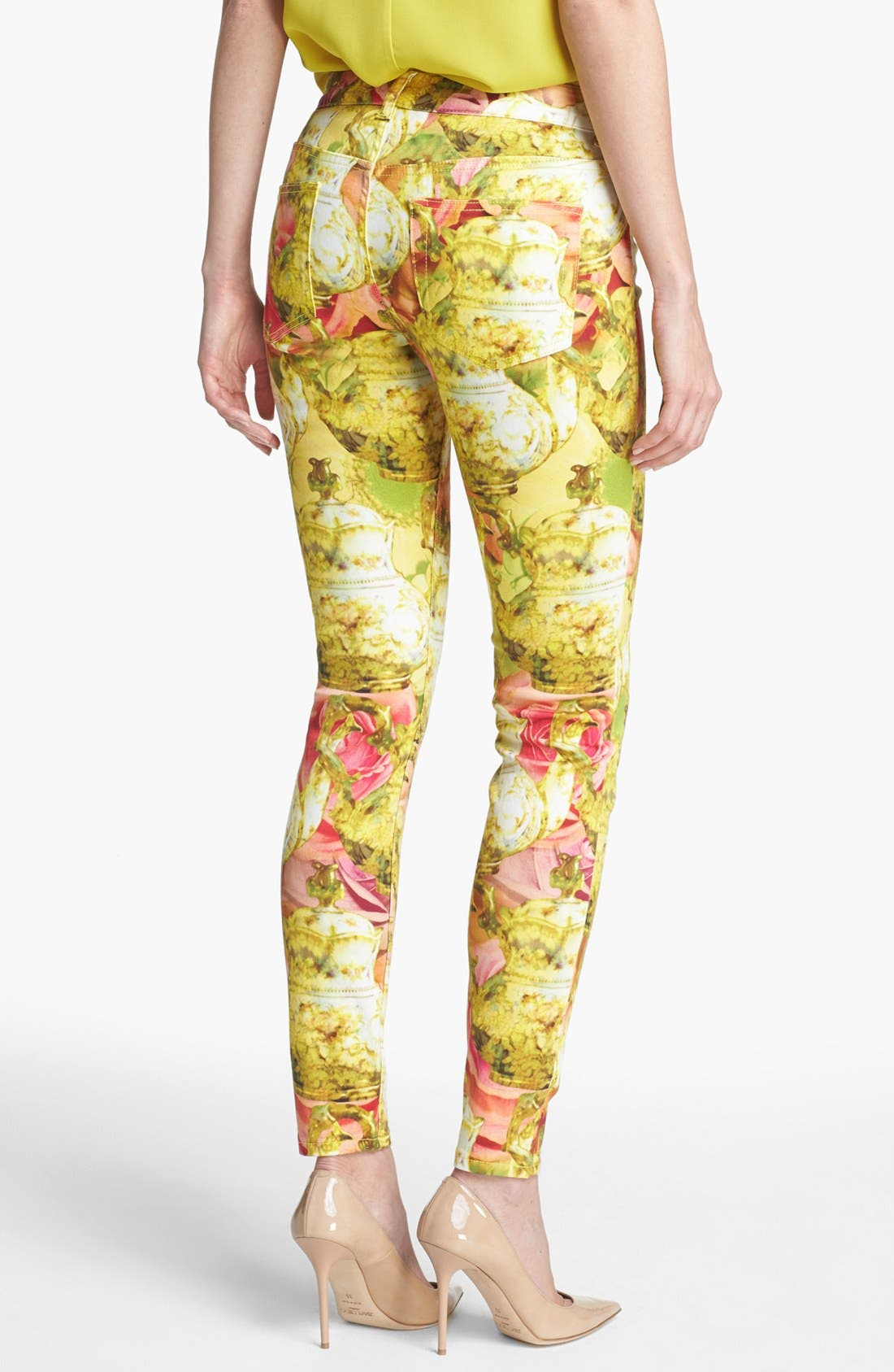 Alternate Image 2  - Ted Baker London 'Danelle - Tea Pot' Ankle Skinny Stretch Ankle Jeans (Shell)