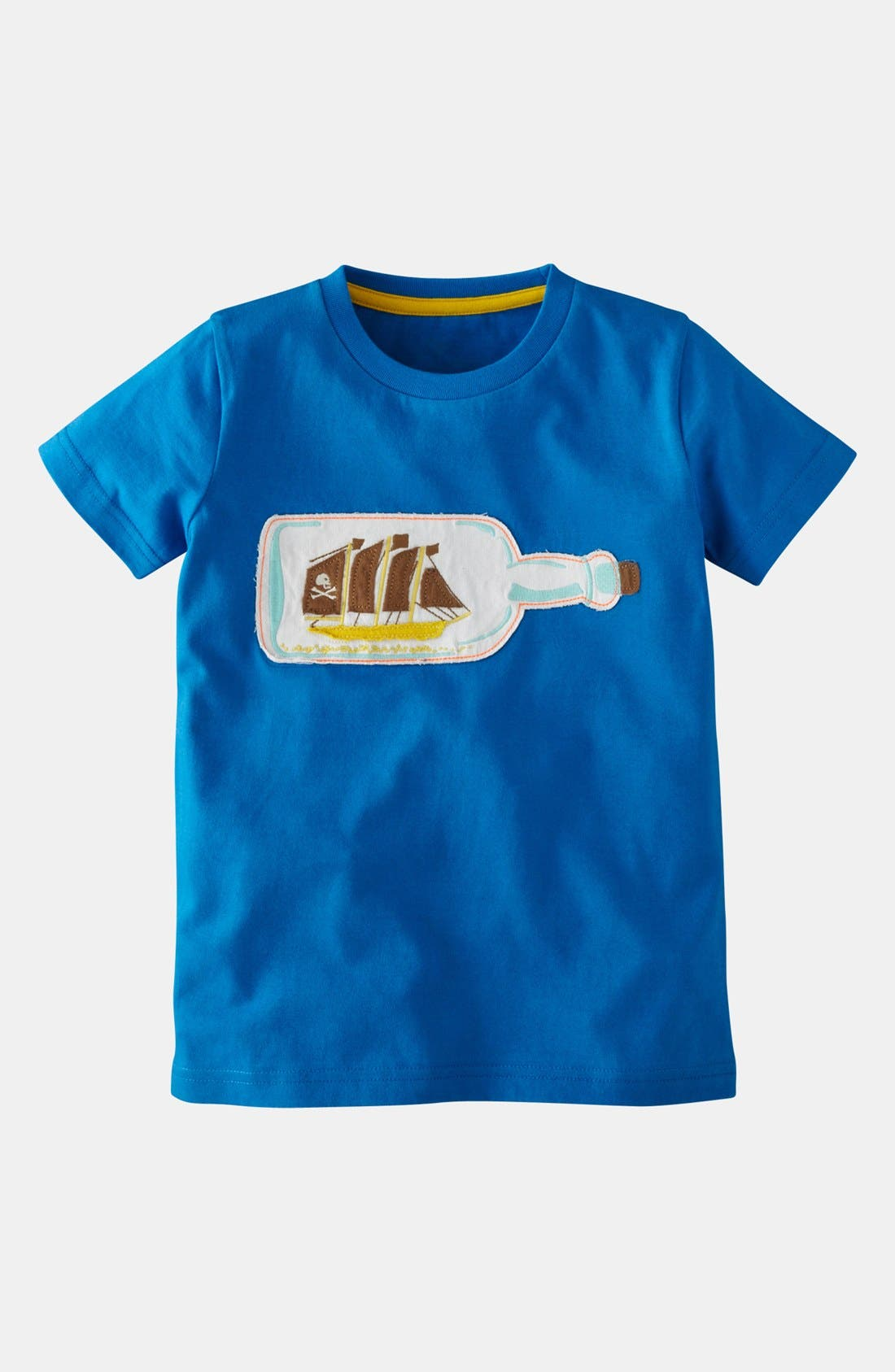 Alternate Image 1 Selected - Mini Boden 'Pirate' T-Shirt (Toddler Boys)