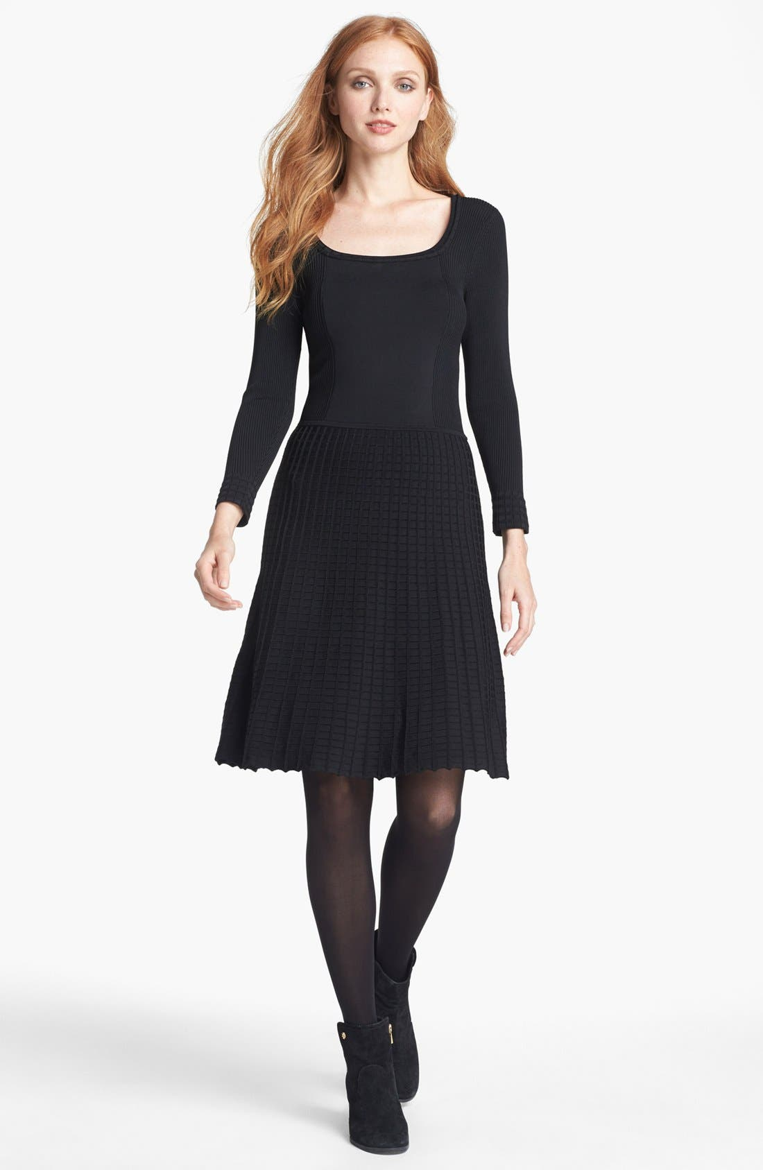 Alternate Image 1 Selected - Tory Burch 'Thea' Stretch A-Line Dress