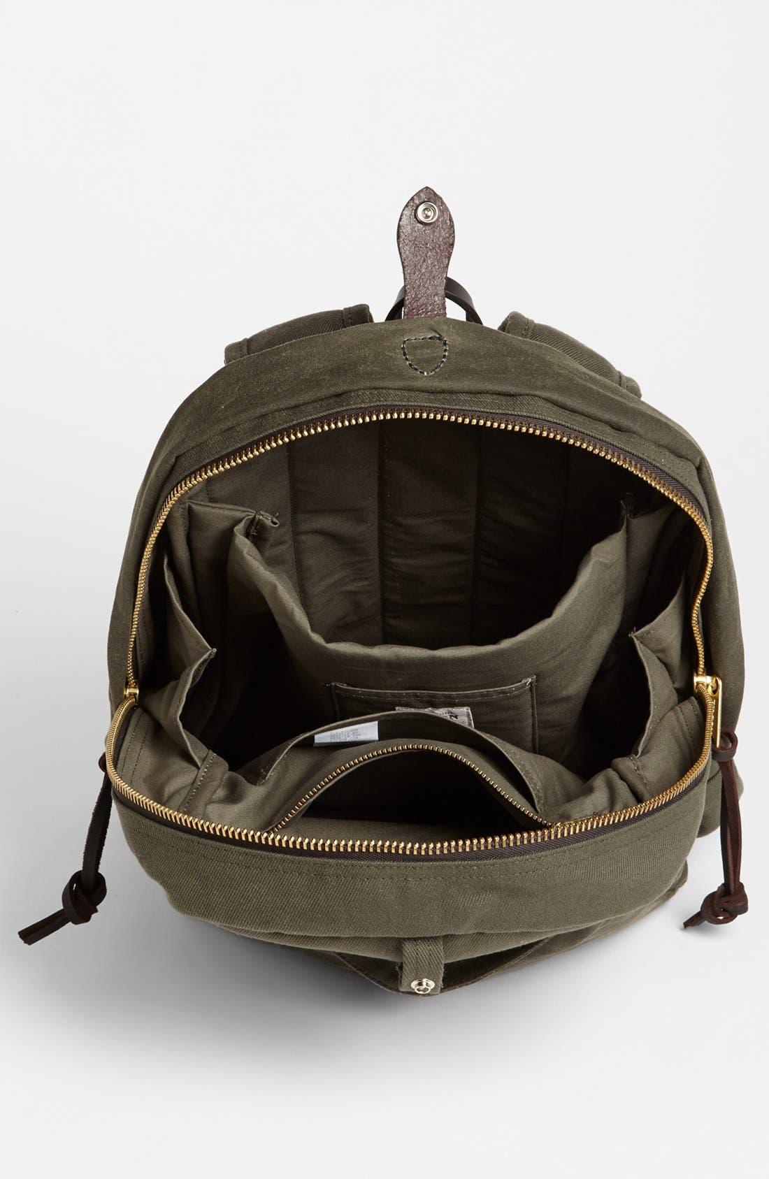 Alternate Image 3  - Filson Twill Backpack