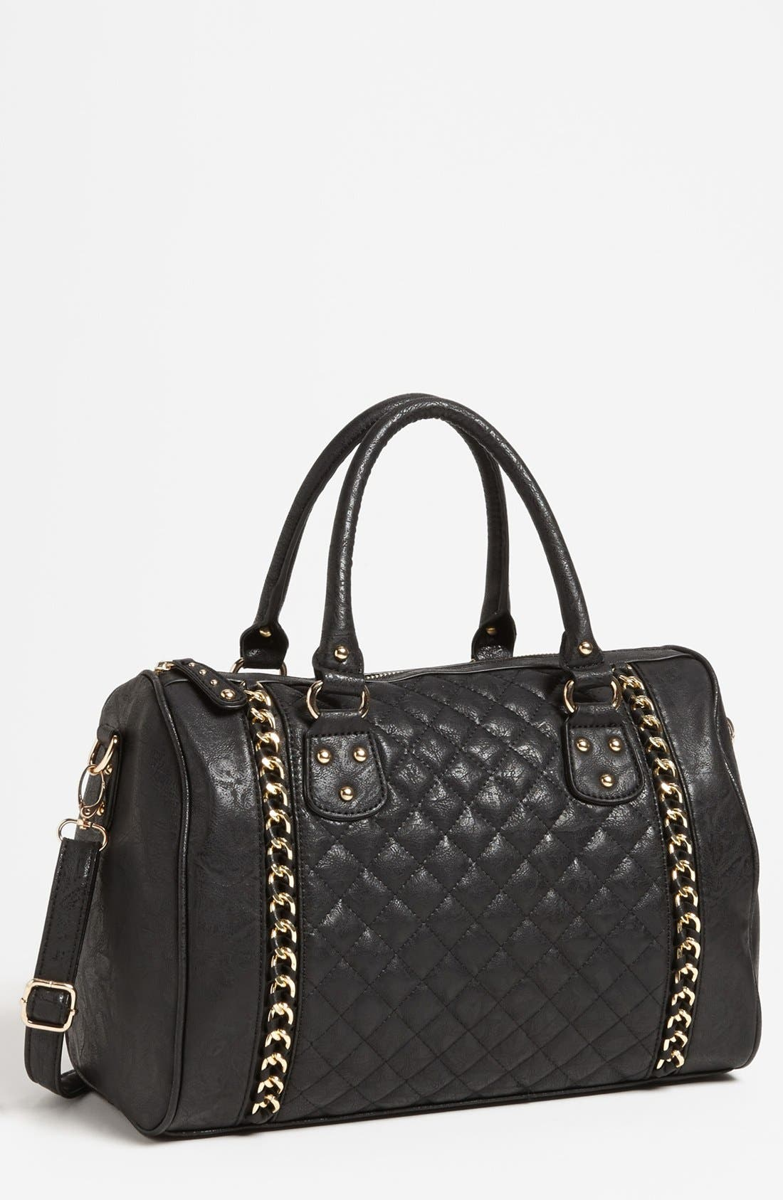 Main Image - Cesca Quilted Satchel (Juniors) (Online Only)