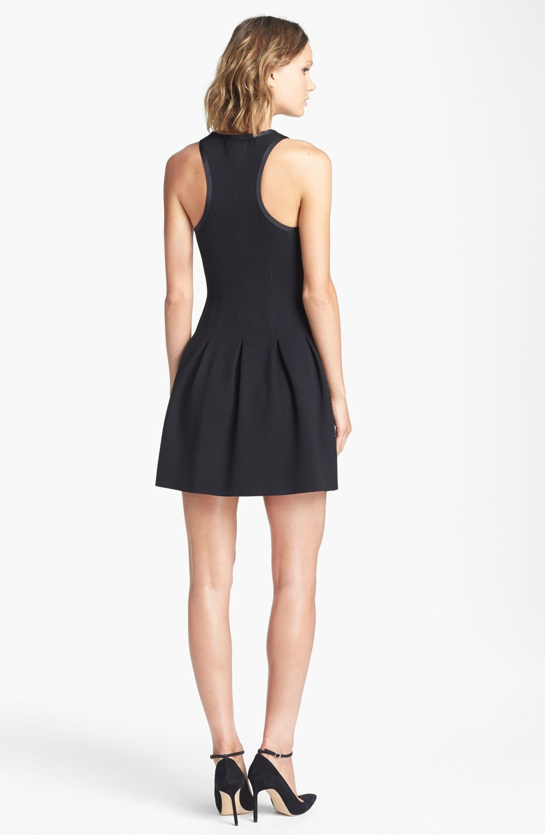 Alternate Image 2  - Juicy Couture Fit & Flare Dress