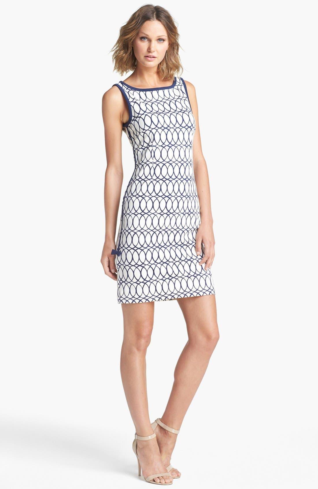 Alternate Image 1 Selected - Lilly Pulitzer® 'Francesca' Print Sheath Dress