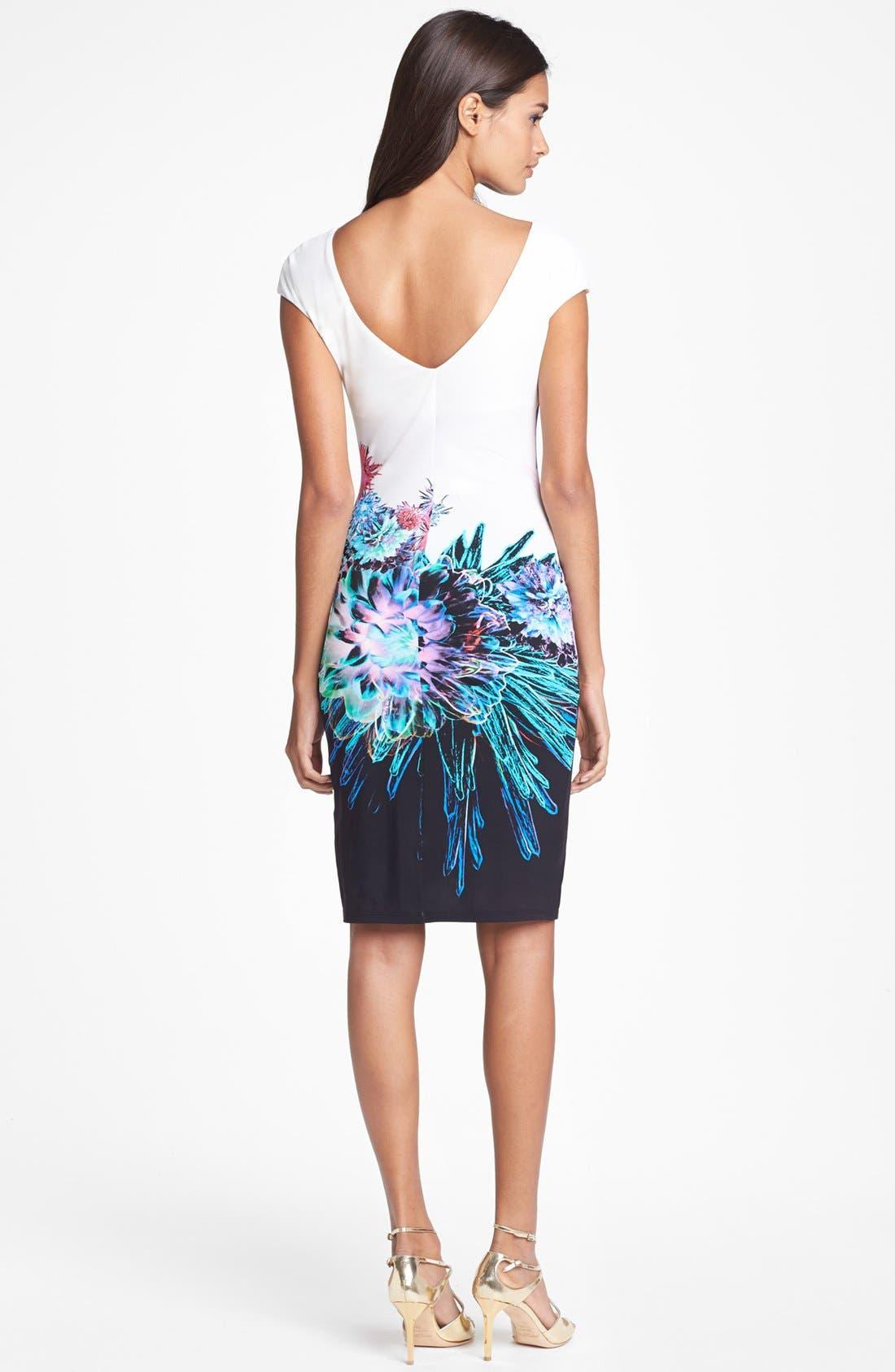 Alternate Image 2  - Roberto Cavalli 'Amber Print' Jersey Dress