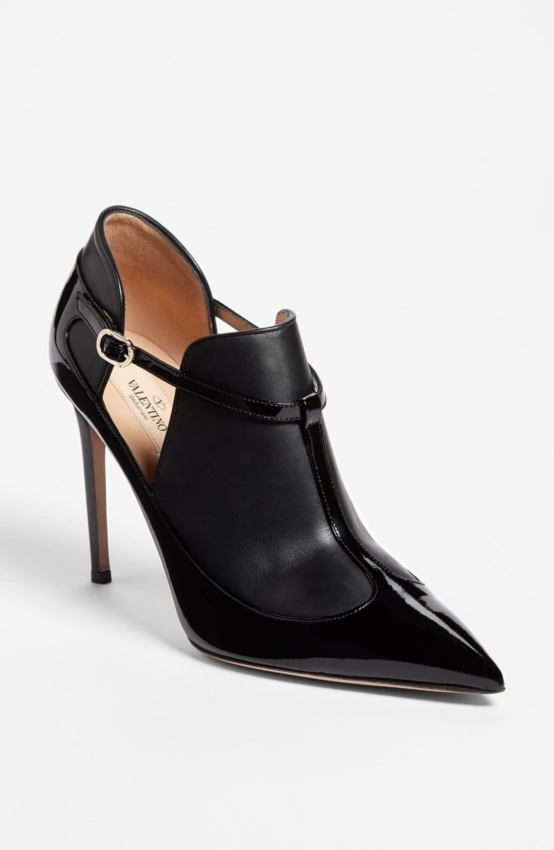 Alternate Image 1 Selected - Valentino Overlap T-Strap Pump
