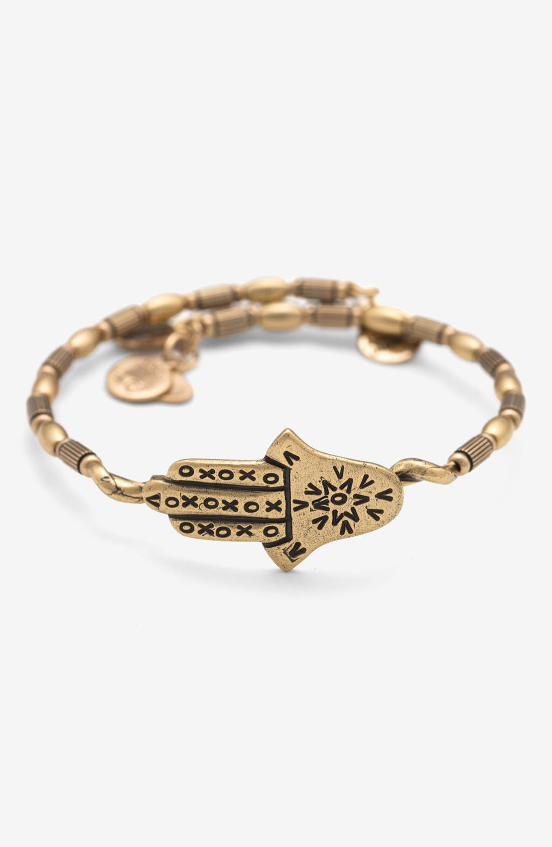 Main Image - Alex and Ani 'Hamsa' Expandable Bangle