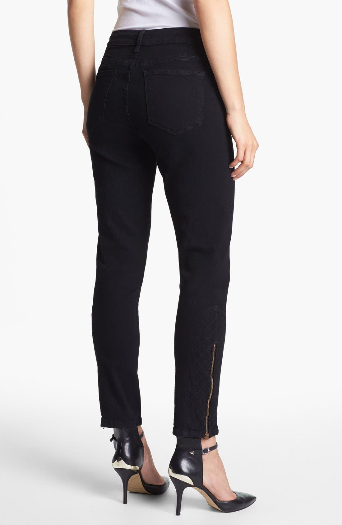 Alternate Image 2  - NYDJ 'Arabella' Ankle Zip Stretch Skinny Jeans