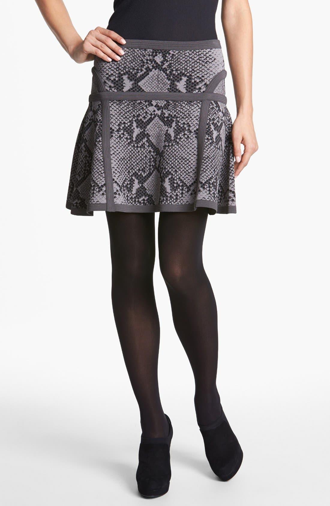 Alternate Image 1  - Diane von Furstenberg 'Flote' Print A-Line Skirt