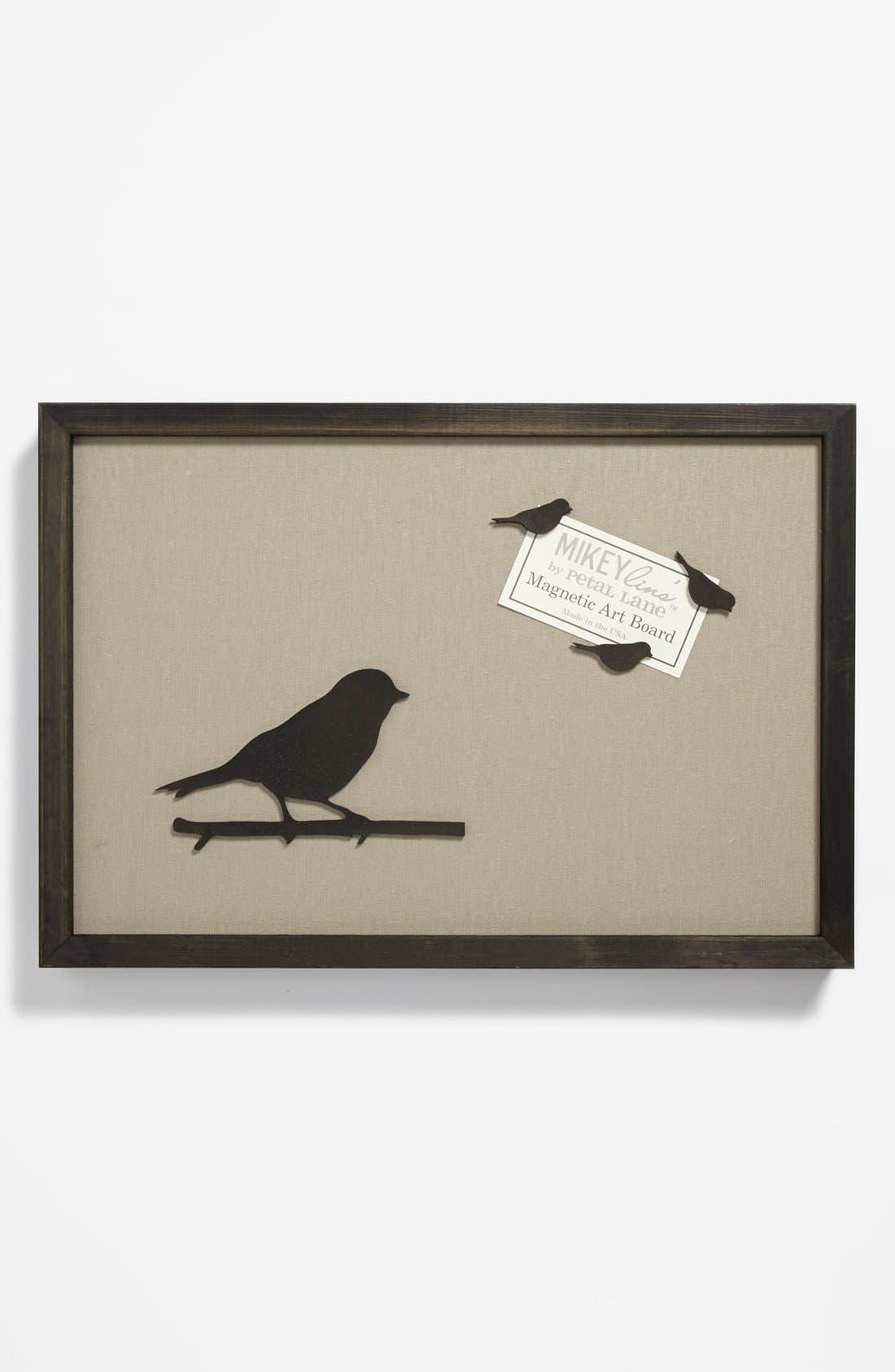 Alternate Image 1 Selected - 'Bird' Framed Magnet Board, Medium