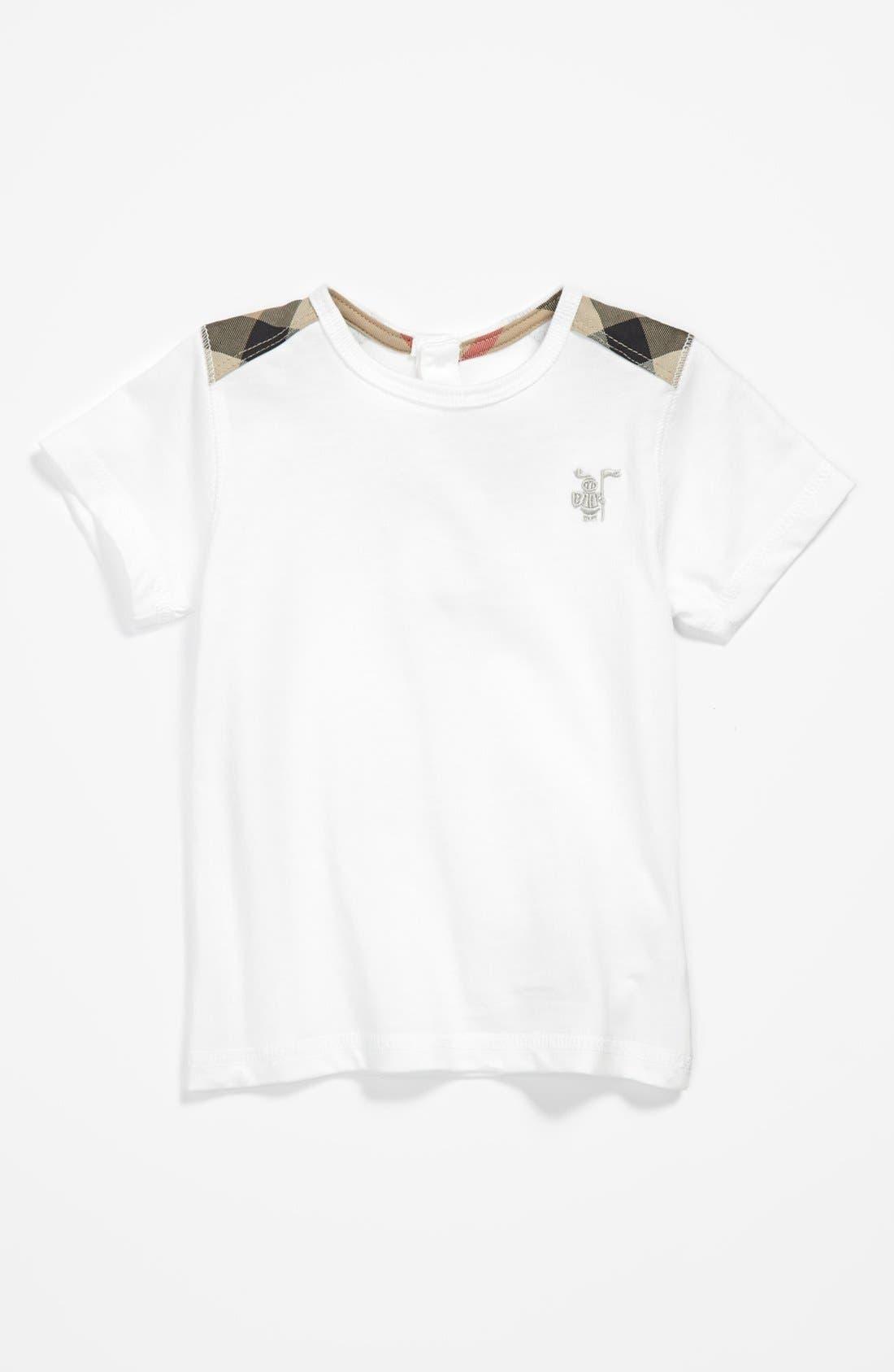 Alternate Image 1 Selected - Burberry 'Lencel' T-Shirt (Baby Boys)