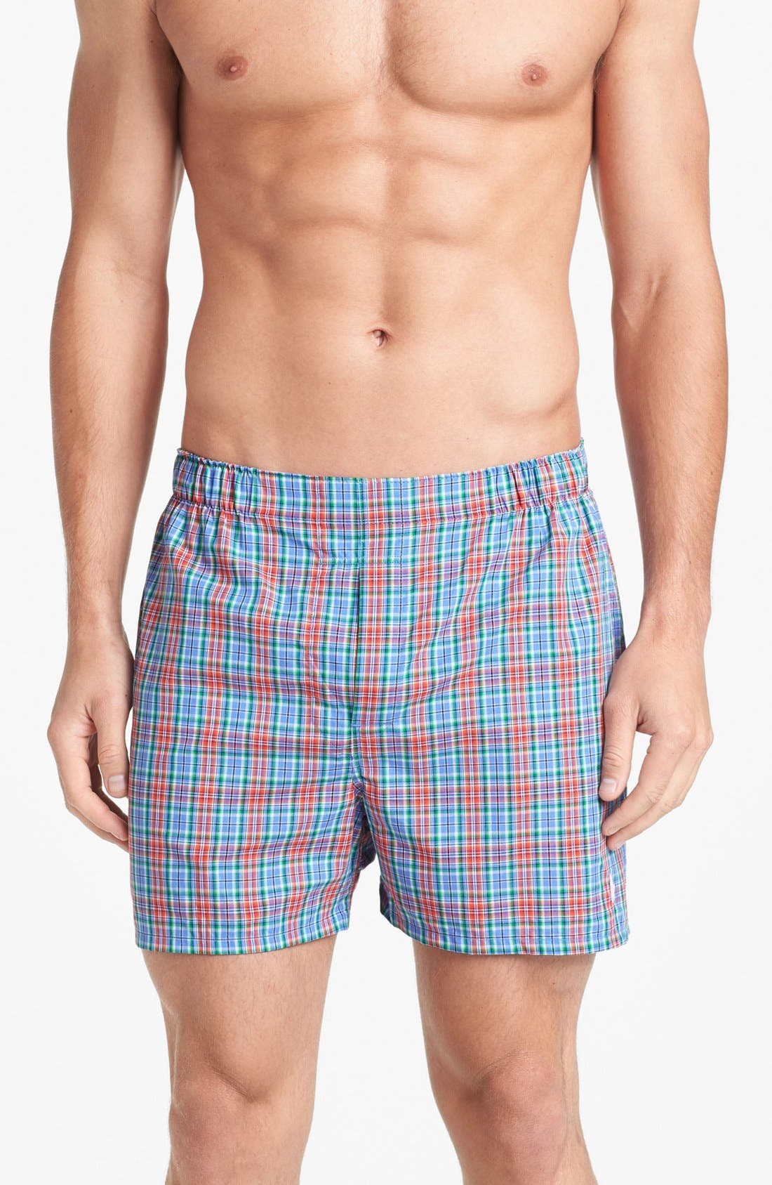 Alternate Image 1 Selected - Polo Ralph Lauren Woven Boxers (Assorted 3-Pack)