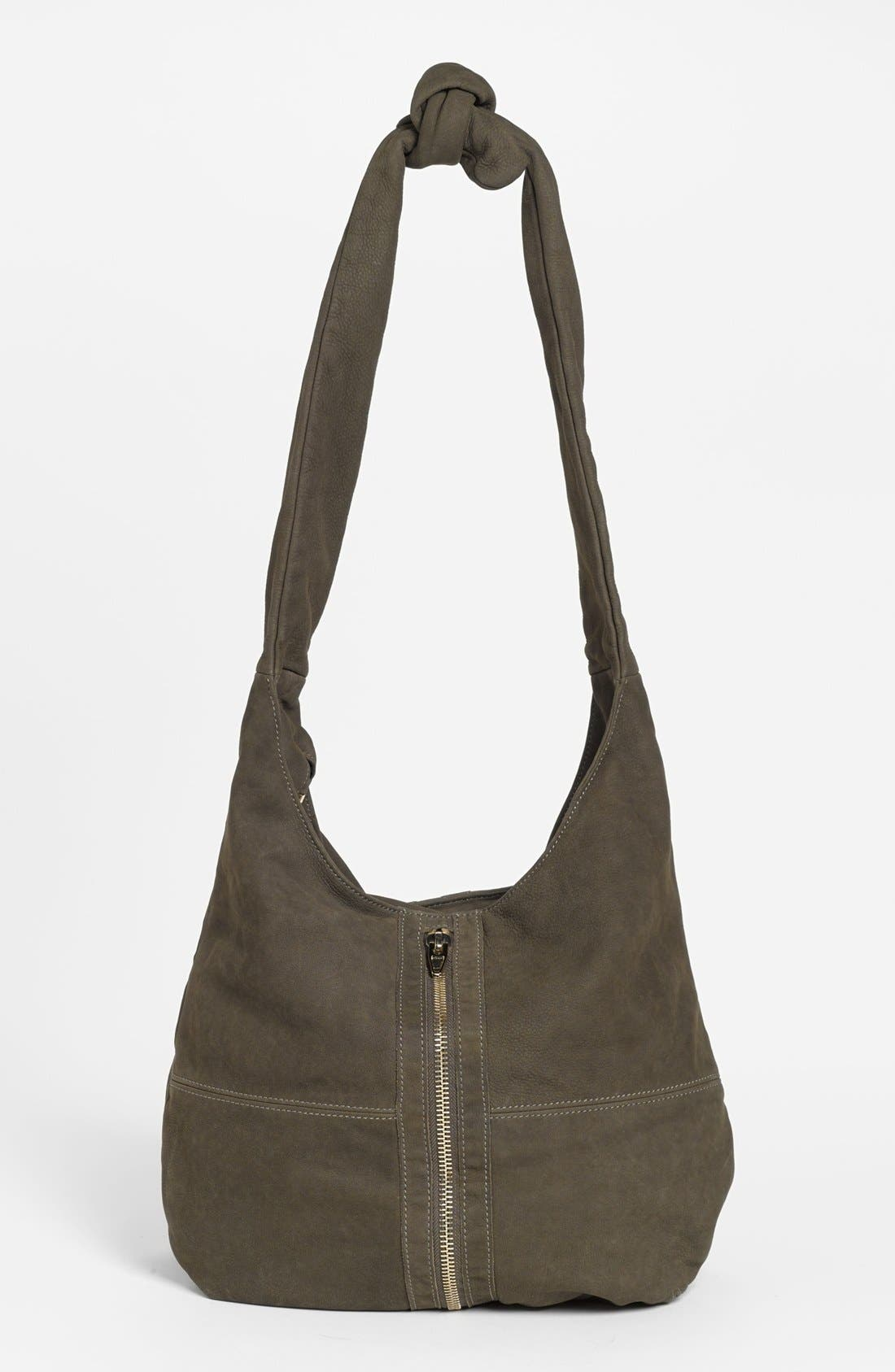 Alternate Image 4  - Alexander Wang 'Donna - Pale Gold' Nubuck Leather Hobo