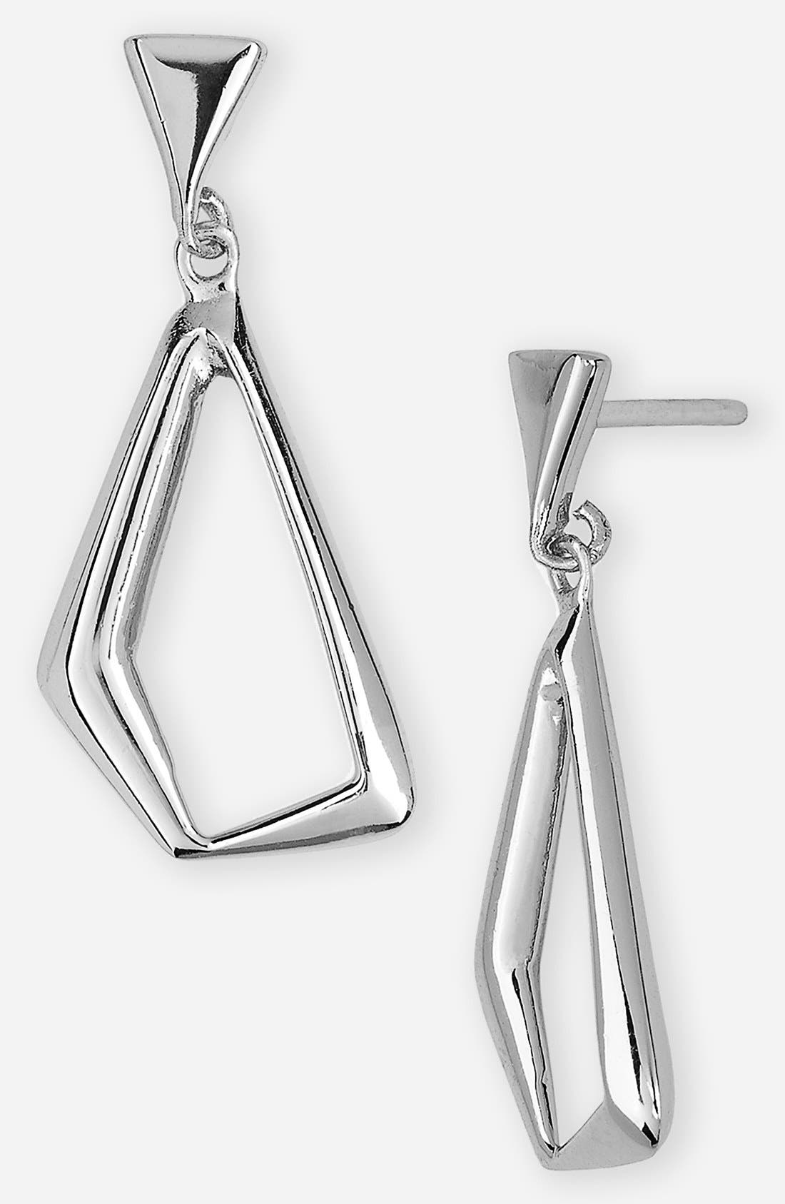 Alternate Image 1 Selected - Argento Vivo Open Drop Earrings (Online Only)