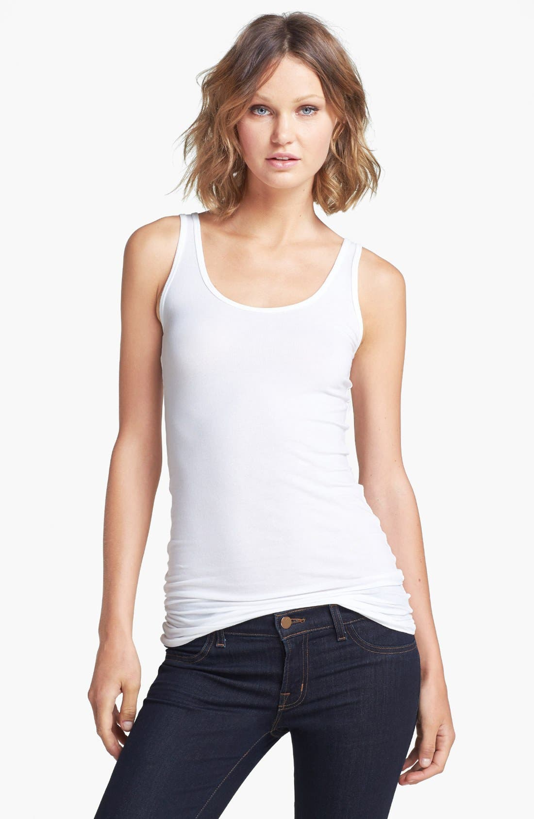 Splendid Scoop Neck Stretch Tank