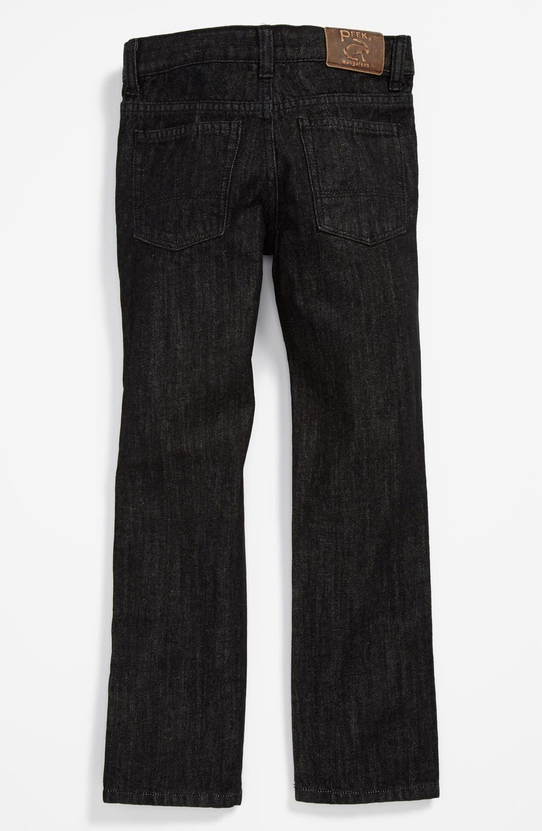 Alternate Image 1 Selected - Peek 'Ellis' Straight Leg Jeans (Toddler Boys, Little Boys & Big Boys)