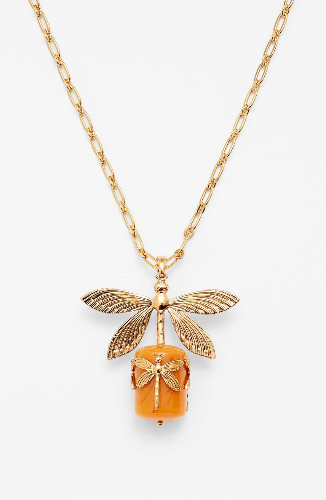 Alternate Image 2  - Tory Burch Dragonfly Pendant Necklace