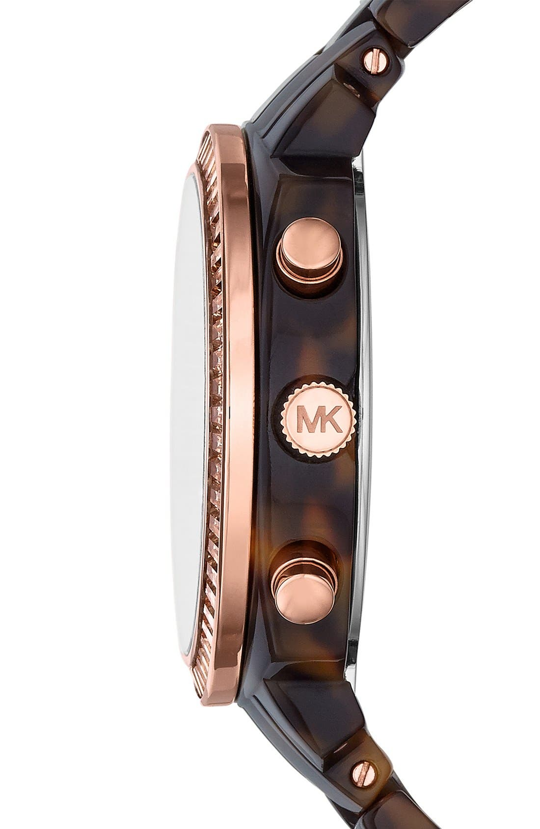 Alternate Image 3  - Michael Kors 'Wolcott' Chronograph Bracelet Watch, 41mm