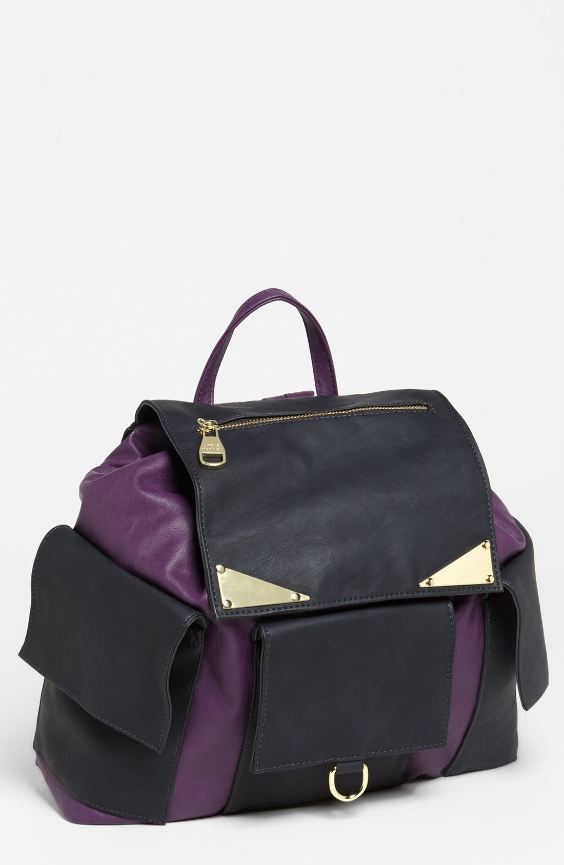 Main Image - Steve Madden Faux Leather Backpack