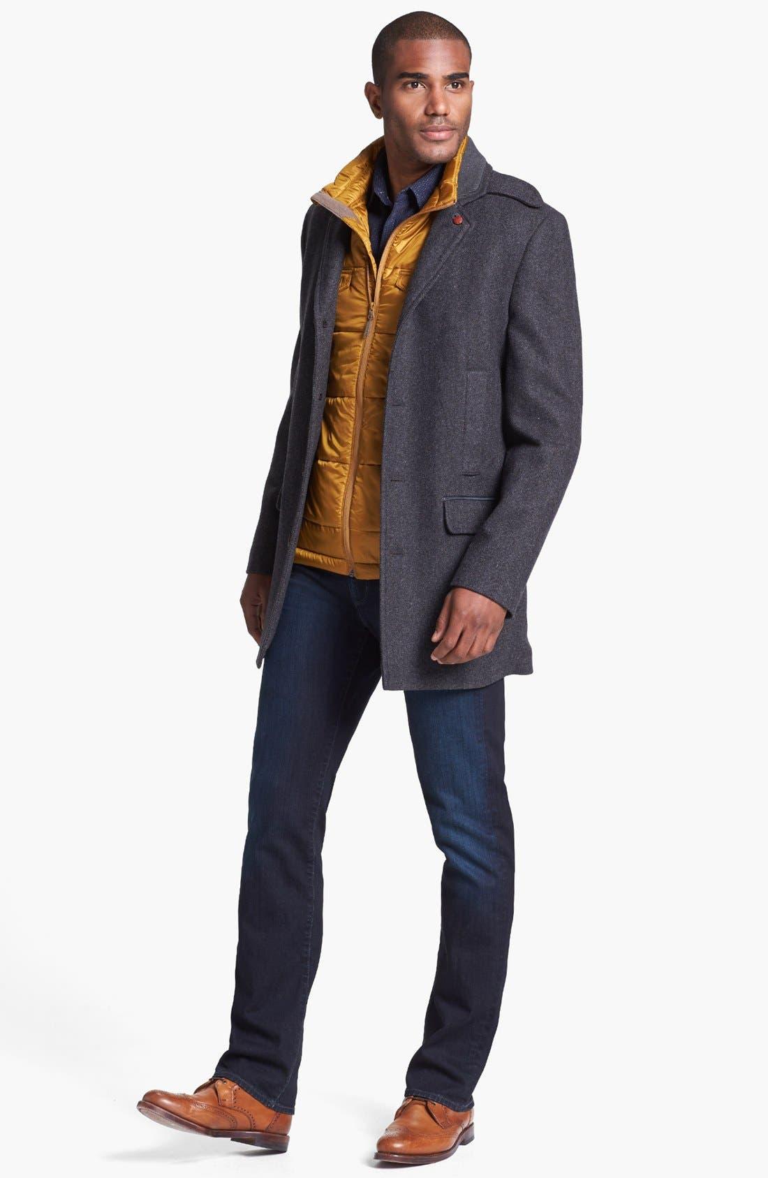 Alternate Image 4  - John Varvatos Star USA Slim Fit Sport Shirt
