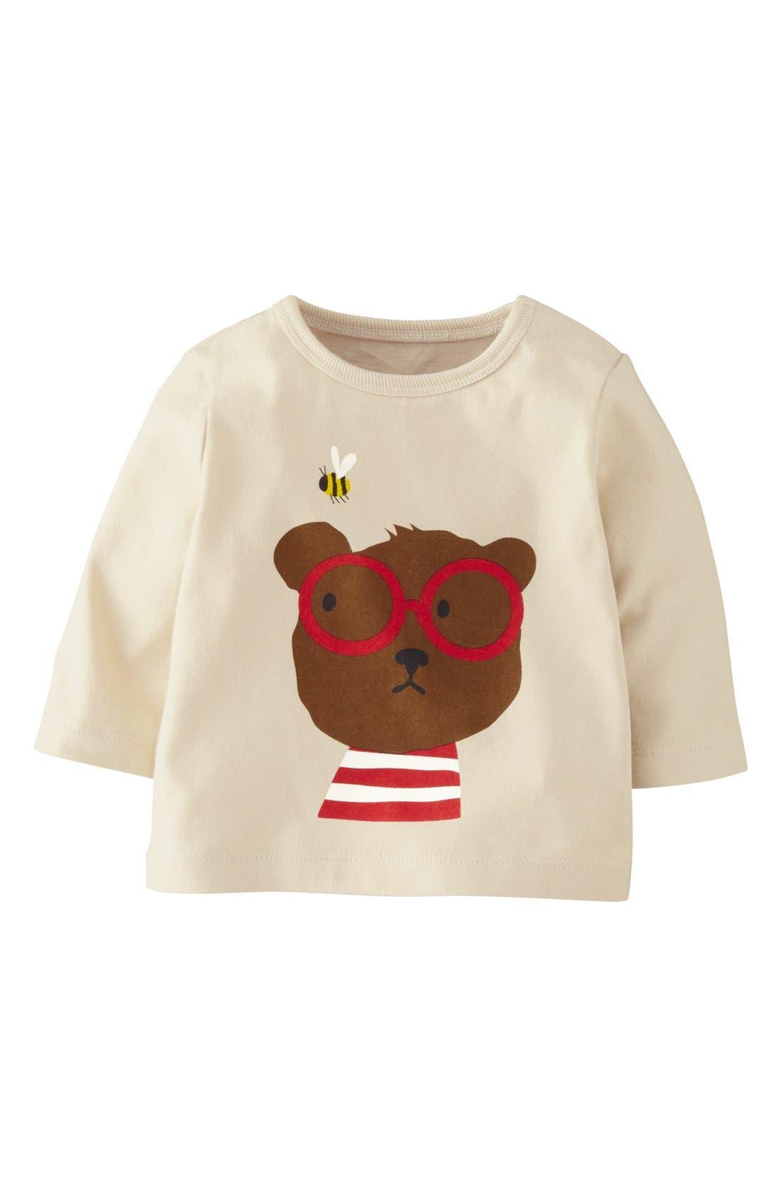 Alternate Image 1 Selected - Mini Boden Screenprint T-Shirt (Baby Boys)